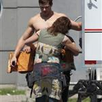 Kellan Lutz in loin cloth costume for Immortals in Montreal June 2010 63364