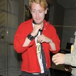Macaulay Culkin in London with Kieran Culkin at Scott Pilgrim afterparty 67370
