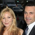 Jon Hamm and Jennifer Westfeldt at AMC's Mad Men screening  109082