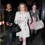 Elisabeth Moss leaves The Box Club in London 81939