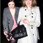 Elisabeth Moss leaves The Box Club in London 81941
