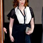Christina Hendricks leaves her Manhattan hotel  109623