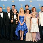 The cast of Mad Men at the Emmys August 2010 67917