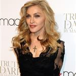 Madonna at the Truth or Dare by Madonna fragrance launch at Macy's New York 111196