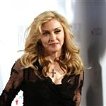 Madonna at the Truth or Dare by Madonna fragrance launch at Macy's New York 111204