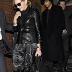 Madonna in ants pants with Jesus Luz out in London 57962