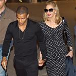 Madonna and her boyfriend seen leaving restaurant in Rome 117077