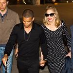 Madonna and her boyfriend seen leaving restaurant in Rome 117078