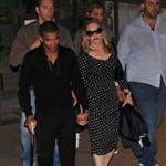 Madonna and her boyfriend seen leaving restaurant in Rome 117079