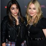 Madonna and Lourdes walk carpet together at Material Girl launch at Macy's 69318