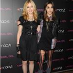 Madonna and Lourdes walk carpet together at Material Girl launch at Macy's 69321