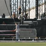 Madonna rehearsing in Israel  115873