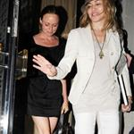 Madonna and Stella McCartney out for dinner in London after her Michael Jackson tribute 42461