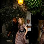 Madonna out for dinner with boyfriend Brahim in the South of France 92817