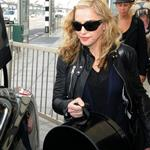 Madonna at Heathrow with Rocco and David Banda  88365
