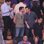 Jake Gyllenhaal at Lakers Celtics Game 7  63609