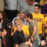 Jake Gyllenhaal at Lakers Celtics Game 7  63612