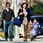 Maggie Gyllenhaal and daughter Ramona with Peter Sarsgaard and Jake Gyllenhaal 54549