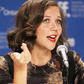 Maggie Gyllenhaal at the TIFF press conference for Hysteria  94430