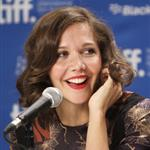 Maggie Gyllenhaal at the TIFF press conference for Hysteria  94436