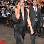 Maggie Gyllenhaal at The Dark Knight premiere in London 22760