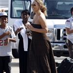 Mariah Carey on the set of The Butler 123923