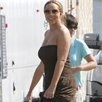 Mariah Carey on the set of The Butler 123928