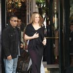 Mariah Carey and Nick Cannon leave their hotel in Paris 112959