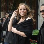 Mariah Carey and Nick Cannon leave their hotel in Paris 112965