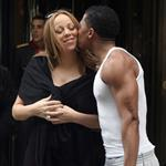 Mariah Carey and Nick Cannon leave their hotel in Paris 112968