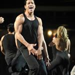Mario Lopez in A Chorus Line on Broadway 19391