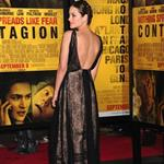 Marion Cotillard at New York premiere of Contagion  93555