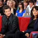 Marion Cotillard Guillaume Canet appear together on Vivement Dimanche to promote Les Petits Mouchoirs  70398