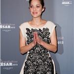 Marion Cotillard attends the Chaumet's Cocktail Party for Cesar's Revelations 2012  103268