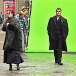 Joaquin Phoenix and Marion Cotillard on the set of an untitled James Gray project in NYC 103974