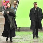 Joaquin Phoenix and Marion Cotillard on the set of an untitled James Gray project in NYC 103975