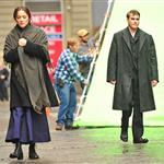 Joaquin Phoenix and Marion Cotillard on the set of an untitled James Gray project in NYC 103978