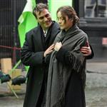 Joaquin Phoenix and Marion Cotillard on the set of an untitled James Gray project in NYC 103980