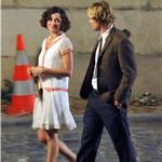 Marion Cotillard and Owen Wilson shoot Midnight in Paris for Woody Allen  64710