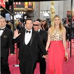 Mark Wahlberg and Rhea Durham at Oscars 2011 80473