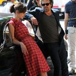 Mark Ruffalo on the set of Can A Song Save Your Life with Keira Knightley in Manhattan 120141