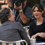 Mark Ruffalo on the set of Can A Song Save Your Life with Keira Knightley in Manhattan 120144