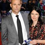 Mark Strong and Liza Marshall at Attack the Block premiere in London  84693