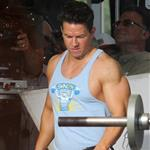 Mark Wahlberg on the set of Pain and Gain 110511