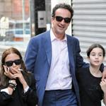 Mary-Kate Olsen with Olivier Sarkozy and his daughter in New York City 118164