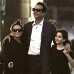 Mary-Kate Olsen with Olivier Sarkozy and his daughter in New York City 118169