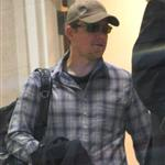 Matt Damon seen leaving LAX 108203
