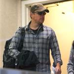 Matt Damon seen leaving LAX 108205