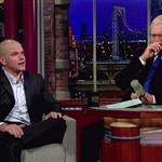 Matt Damon appears on the Late Show With David Letterman 100303