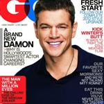 Matt Damon covers GQ Magazine  100493
